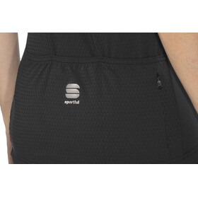 Sportful Giara - Maillot manches courtes Femme - gris/noir